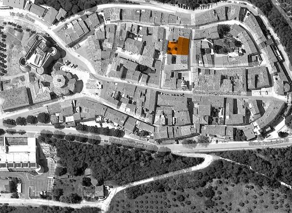 Ricostruzione Urbs-Salvia Serbatoio romano